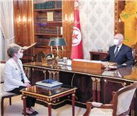 أول امرأة رئيسة للحكومة..  تونس تواصل تنفيذ خارطة الطريق