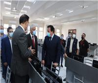افتتاح كلية الذكاء الاصطناعى فى ختام زيارة وزير التعليم العالي لجامعة المنوفية