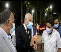 محافظ الجيزة يتابع أعمال رصف وتطوير شوارع «العمرانية»