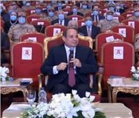الرئيس السيسي لـ«الفتاة البدوية»: لا تتألمي من قدر الله فينا