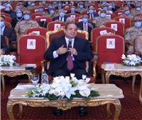 الرئيس السيسي لنجل الروائي جمال الغيطاني: «والدك كان صديقًا عزيزًا»