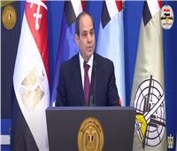 الرئيس السيسى: مصر قدرت تعبر حاجز اليأس وعدم الثقة والقدرة خلال حرب أكتوبر