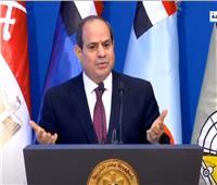 الرئيس السيسى: أشقاؤنا العرب وقفوا معنا فى حرب أكتوبر