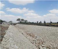 تأهيل وتبطين 35 ترعة بمركز الحسينية في إطار «حياة كريمة»