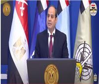 الرئيس السيسي: تطوير الدولة المصرية مستمر بلا توقف