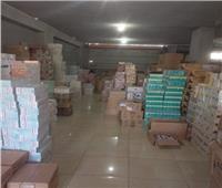 ضبط 290 طن مواد كيماوية منتهية الصلاحية بمصنع بمركز بلبيس