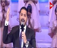 مصطفى حجاج: فخور بعد غنائى أمام الرئيس فى احتفالات أكتوبر