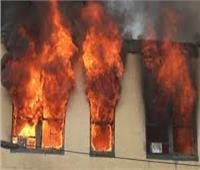 إصابة طالب في اندلاع حريق بمنزل بالمنيا