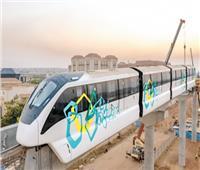 تثبيت أول قطار مونوريل أمام «ماسة» العاصمة الإدارية
