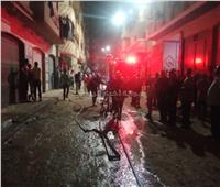 السيطرة على حريق شقة سكنية في دمنهور دون إصابات   صور