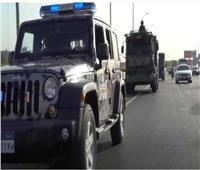 ضبط 87 تاجر مخدرات بأسلحة نارية في حملة أمنية بالجيزة