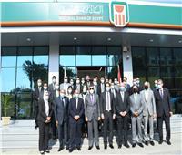 افتتاح فرع البنك الأهلي بحرم كلية التجارة بجامعة عين شمس