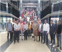 صور| التموين تنظم زيارة لطلاب جامعة القاهرة إلى لوجستية طنطا