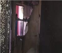 بسبب ماس كهربائي.. تفحم منزل في حريق هائل بالأقصر