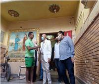 وكيل وزارة الصحة يتابع تطعيمالمواطنين بلقاح كورونا بالشرقية