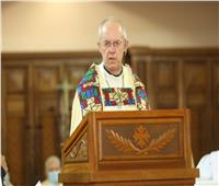 رئيس «كانتربري» يمنح صليبًا لرئيس الأسقفية المصري: ليكن التواضع نموذجك