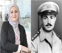 نجلة الرائد محمد عبد النبي: ارتدي تاج الفخر لأني «بنت الشهيد»