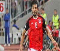 حجازي يحتفل بفوز المنتخب على ليبيا