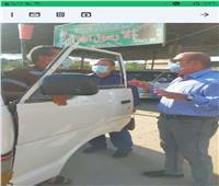 انتظام العمل بمواقف السيارات والتزام السائقين بتعريفة الركوببالشرقية