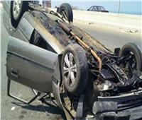 بينهم 4 أطفال أشقاء.. إصابة 7 أشخاص في حادث انقلاب سيارة بالمنيا