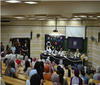 صيدلة عين شمس تنظم حفل استقبال للطلاب الجدد