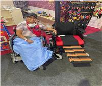 الصحة توفر «كرسي متحرك» وتقدم الرعاية الطبية بالمجان لمشاركة بمعرض «تراثنا»
