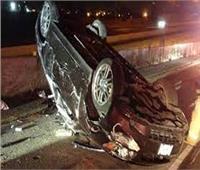 بالأسماء  إصابة 5 أشخاص في حادث تصادم بالمنيا