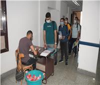 مدن جامعة القاهرة تواصل تسكين الطلاب حتي 17 أكتوبر
