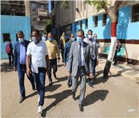 محافظ المنوفية يتابع سير العملية التعليمية بمجمع مدارس قويسنا