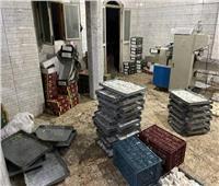 ضبط وإعدام 27 طن حلوى وأغذية فاسدة بالمحافظات