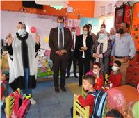 مدير «تعليم المنوفية» يتفقد انتظام الدراسة بشبين الكوم
