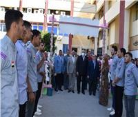 كلية الطب البيطري بجامعة السادات تحتفى بالطلاب الجدد