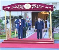 السيسي: مباحثات مكثفة مع رئيس جنوب السودان لتعزيز التعاون المشترك