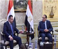 بدء اللقاء الموسع لرئيسي وزراء مصر واليمن