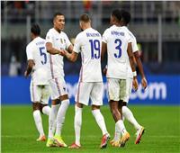 دوري الأمم الأوروبية  بنزيما يسجل هدفا رائعا ويتعادل سريعا لفرنسا