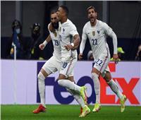 دوري الأمم الأوروبية  مبابي يسجل الهدف الثاني لفرنسا في إسبانيا