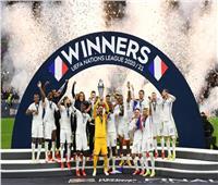لحظة تتويج المنتخب الفرنسي بلقب دوري الأمم الأوروبية  صور وفيديو