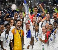 منتخب فرنسا يدخل التاريخ بعد التتويج بدوري الأمم الأوروبية