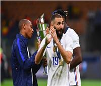 بنزيما رجل مباراة فرنسا وإسبانيا.. وبوسكيتس أفضل لاعب في النهائيات