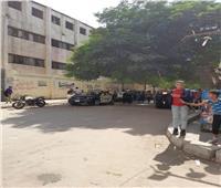 استجابة للأهالي.. سيارات الشرطة تؤمن محيط شارع المدارس بإمبابة