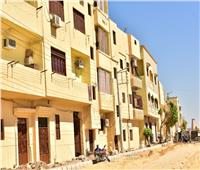 طلاء واجهات 1500 منزل مطل على طريق الكباش بالأقصر
