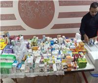ضبط أكتر من ٤٠٠ ألف قرص أدوية مختلفة بمخزن غير مرخص بالساحل