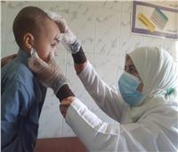 الكشف وتوفير العلاج لـ1400 مواطن في قافلة علاجية ببني سويف