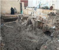 حبس صاحب واقعة هدم المقابر بلودر ورمي الجثث في طنطا