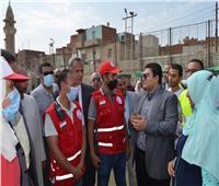نائب محافظ بني سويف يتابع الموقف التنفيذي لمشروعات «حياة كريمة»