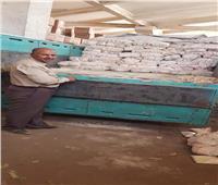 التحفظ على 8 أطنان سكر مدعم قبل بيعها بالسوق السوداء في المنيا
