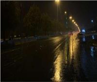 سقوط أمطار خفيفة على مناطق متفرقة بالمنيا