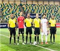 لاعبو المنتخب يحتفلون بالفوز علي ليبيا| صورة