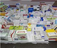 ضبط 400 ألف قرص أدوية فاسدة داخل مخزن صيدلية شهيرة بالقاهرة  صور