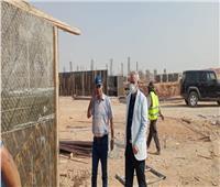 استمرار تنفيذ أعمال محطة رفع مياه شرب جديدة بمدينة بدر
